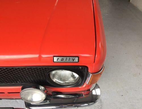 Italian rally car